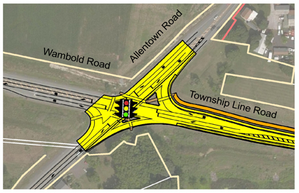 Allentown-Rd-Intersection-Map
